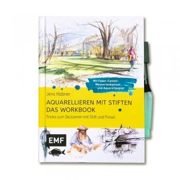 AQUARELLIEREN MIT STIFTEN - Das Workbook